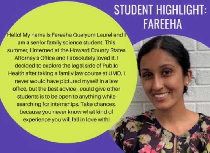 Student Quote from Fareeha